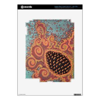 Piel del iPad 3 de la quemadura del templo iPad 3 Pegatina Skin