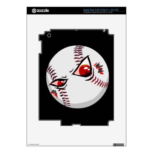 Piel del iPad 3 del béisbol Pegatinas Skins Para iPad 3