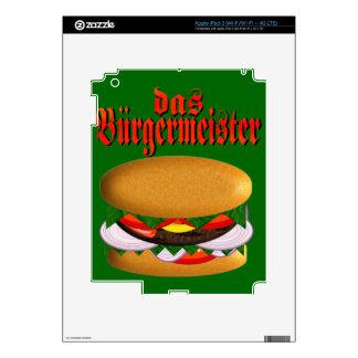 piel del iPad 3 del das Burgermeister Pegatina Skin Para iPad 3