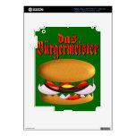 piel del iPad 3 del das Burgermeister iPad 3 Pegatina Skin