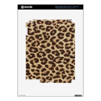 Piel del iPad 3 del estampado leopardo iPad 3 Pegatina Skin