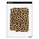 Piel del iPad 3 del estampado leopardo Pegatinas Skins Para iPad 3