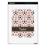 Piel del iPad 3 del fútbol del amor de la paz Pegatina Skin Para iPad 3