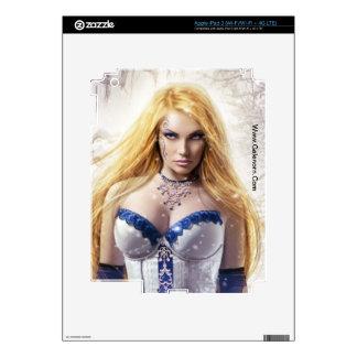 Piel del iPad 3 del iris (ascendentes cercanos) iPad 3 Skins