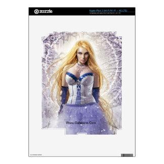 Piel del iPad 3 del iris (ningunas fronteras) iPad 3 Pegatina Skin