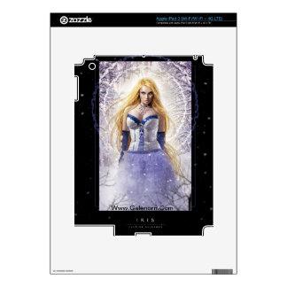Piel del iPad 3 del iris Pegatina Skin Para iPad 3