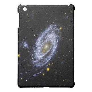 piel del iPad con imagen del espacio exterior