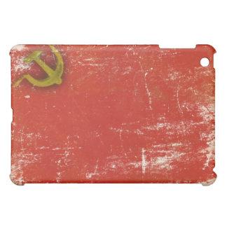 piel del iPad con la bandera vieja sucia de Unión