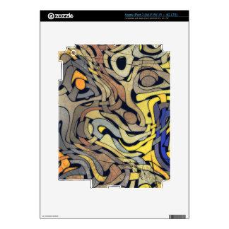 Piel del iPad de la ARMADURA del GRUNGE Pegatina Skin Para iPad 3