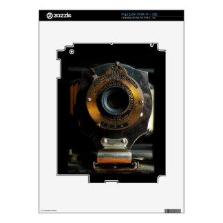 Piel del iPad de la cámara del brownie del vintage iPad 2 Calcomanías