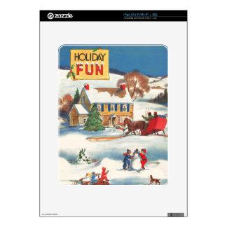 Piel del iPad de la escena de la nieve de las Feli Skins Para eliPad