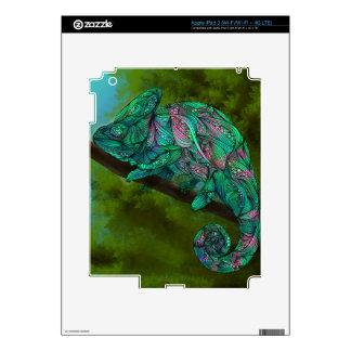Piel del iPad del camaleón iPad 3 Pegatinas Skins