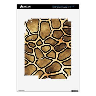 Piel del iPad del MODELO de la JIRAFA Pegatinas Skins Para iPad 3