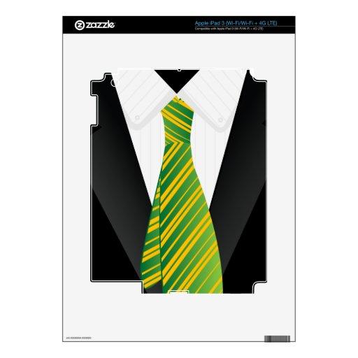 Piel del iPad del traje de negocios de los hombres Pegatina Skin Para iPad 3