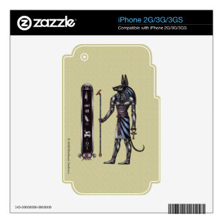 Piel del iPhone 2g/3g de Anubis Skins Para eliPhone 2G