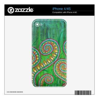 Piel del iPhone 4 4S de Bassdream de la sol Skins Para iPhone 4S
