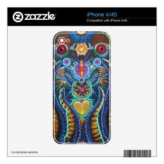 Piel del iPhone 4/4S de Boss del amor de la unidad Calcomanía Para El iPhone 4