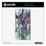 Piel del iPhone 4/4S de las avenidas Skins Para eliPhone 4