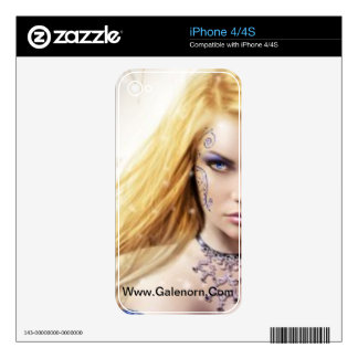 Piel del iPhone 4/4S del iris iPhone 4 Skin