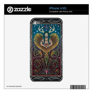 piel del iPhone 4/4S - Shaman de C. McAllister iPhone 4 Skin