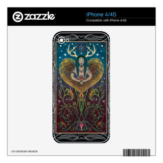 piel del iPhone 4 4S - Shaman de C McAllister Skins Para iPhone 4