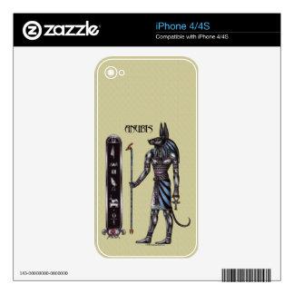 Piel del iPhone 4 de Anubis iPhone 4 Skin