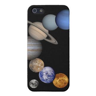 Piel del iPhone 4 de la Sistema Solar iPhone 5 Carcasa
