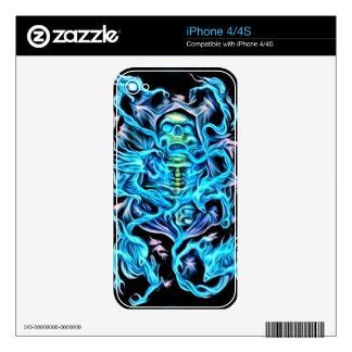 Piel del iPhone 4 del parca iPhone 4S Calcomanía