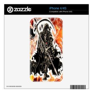 Piel del iPhone 4 del parca Calcomanía Para El iPhone 4S