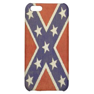 piel del iPhone con la bandera de batalla del vint