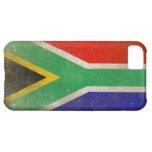 piel del iPhone con la bandera de Suráfrica