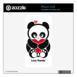 Piel del iPhone de Panda® del amor iPhone 4S Calcomanía