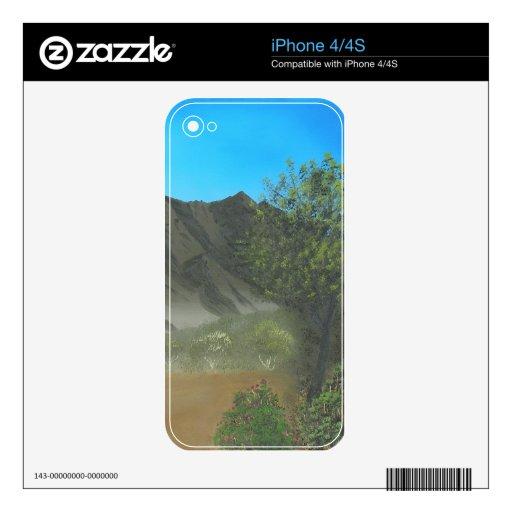 Piel del iPhone de Ridge del Mesquite Calcomanías Para iPhone 4S
