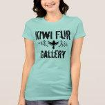 Piel del kiwi camiseta