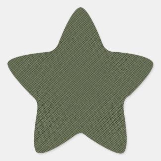 Piel del lagarto pegatinas forma de estrella