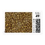 Piel del leopardo franqueo