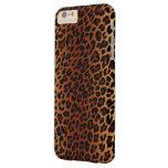 Piel del leopardo funda de iPhone 6 plus barely there