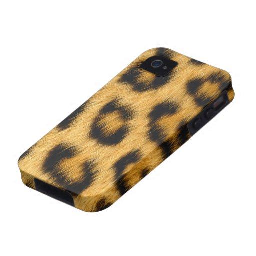 Piel del leopardo iPhone 4/4S carcasa