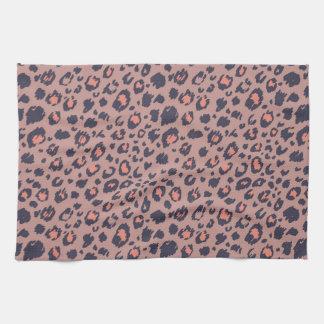 Piel del leopardo toallas de cocina