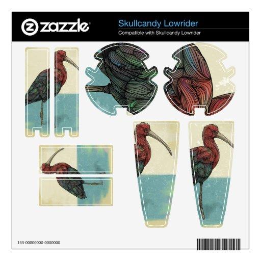 """Piel del Lowrider de """"Ibis"""" Zazzle Skullcandy Skullcandy Lowrider Skin"""