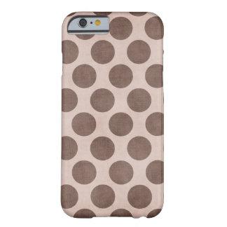 Piel del lunar de Brown Funda Barely There iPhone 6