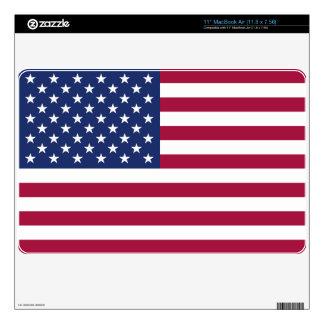 Piel del ordenador de la bandera americana MacBook skin