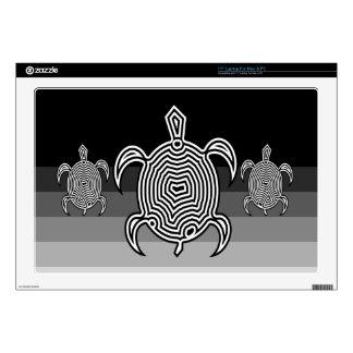 Piel del ordenador portátil de la tortuga del labe skins para portátil