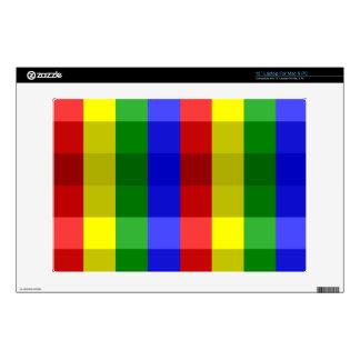 Piel del ordenador portátil de los colores 33cm portátil calcomanía