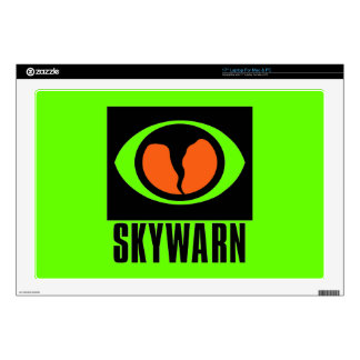 Piel del ordenador portátil de SKYWARN Skins Para Portátiles