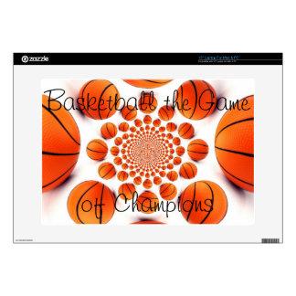 Piel del ordenador portátil del baloncesto de portátil skin