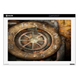 Piel del ordenador portátil del reloj de Steampunk Portátil Calcomanía