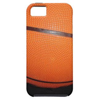 Piel del primer del baloncesto iPhone 5 carcasas