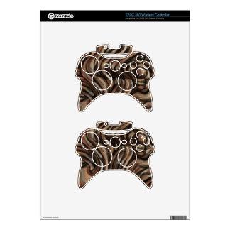 Piel del regulador de Brown Xbox 360 Mando Xbox 360 Skin