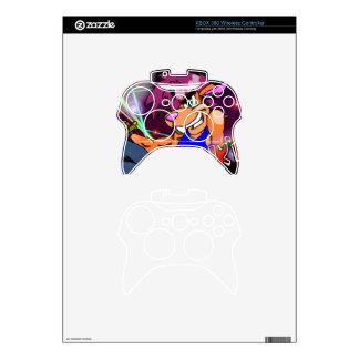 Piel del regulador de Kritter X-Box Mando Xbox 360 Calcomanía